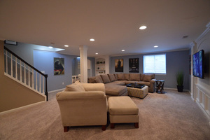 basement remodeling finishing new albany ohio