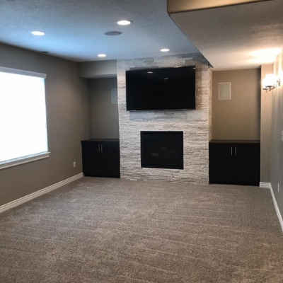 carpet basement finishing